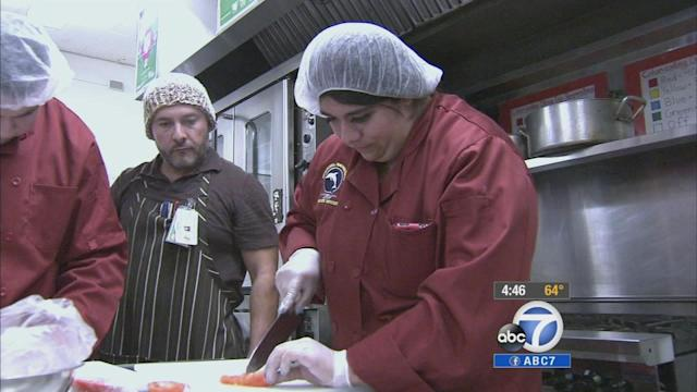 LAUSD students compete in 'Cooking Up Change'