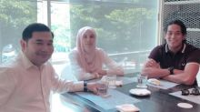 Pictured together, Rafizi says just telling Nurul Izzah, Khairy 'how to be fat'