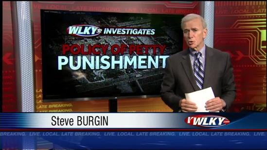WLKY Investigates: Policy of petty punishment (Part 1)