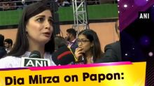 Dia Mirza on Papon: I'm, baffled