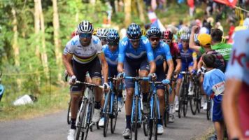 Tour de France - Valverde et Mas leaders de Movistar sur le Tour de France