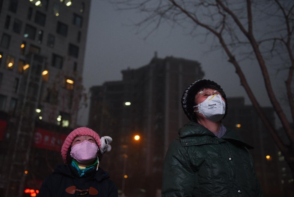 During Beijing's red alert this month, the country's environmental bureau dispatched 12 teams of inspectors to deal with thousands of companies in high-polluting industries in the capital and surrounding areas (AFP Photo/Greg Baker)