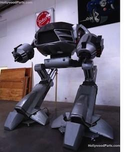 10-foot ED-209 model from RoboCop 2 storms eBay, demands $25k to comply