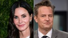 'I KNOW!' Courteney Cox Shares Sweet 'Friends' Reunion Selfie With Matthew Perry