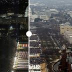 Then and now: A look at how Trump's and Biden's inauguration ceremonies compare