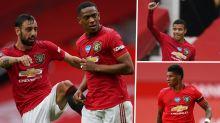 Solskjaer backs Man Utd forwards to match Rooney, Ronaldo & Tevez heights