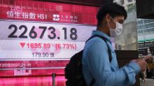 Saham Hong Kong ditutup naik tajam, indeks HSI melonjak 3,36 persen
