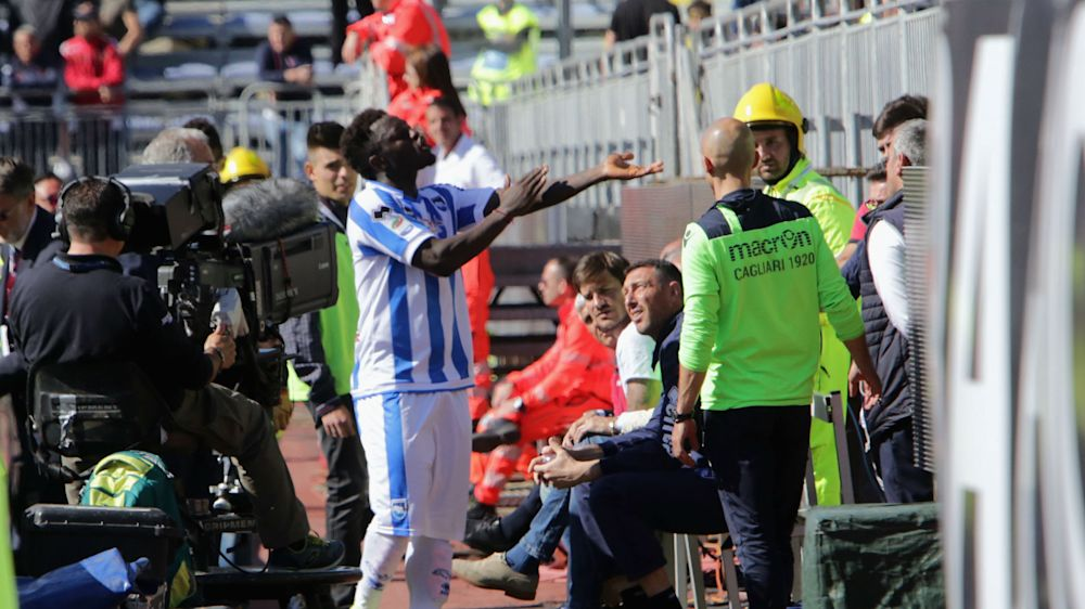 I am the victim - Muntari furious after alleged racist jeers