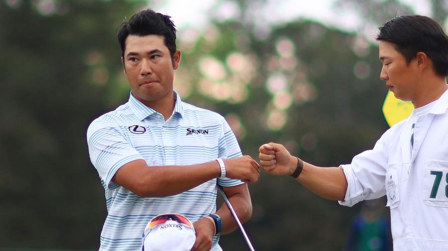 Matsuyama breaks away from field at Masters