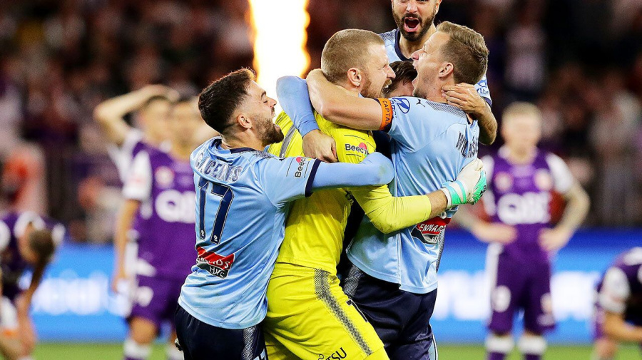 'Worst pen you'll see': Botched kick hands Sydney FC A-League title