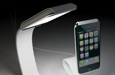 Interesting, impractical iPhone concept lamp