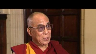 Tibetan spiritual leader tours Britain