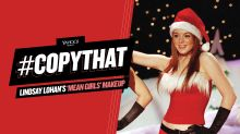 Lindsay Lohan's 'Mean Girls' Christmas makeup is perfect for redheads (and just about everyone else too)