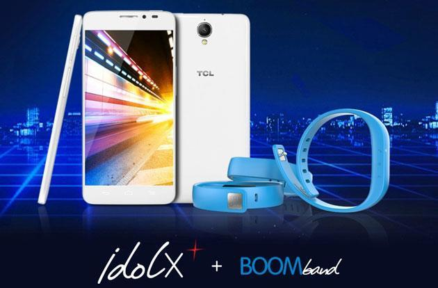 TCL's $330 Idol X+ boasts 2GHz octa-core chip, Bluetooth activity tracker