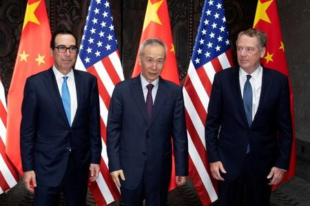 U.S., Chinese officials show signs of trade progress in Shanghai