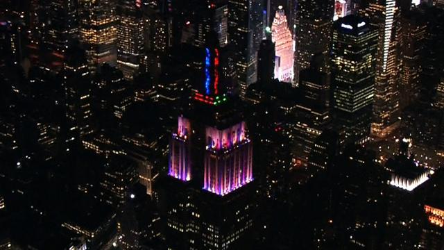 The Empire State Building's brand new look