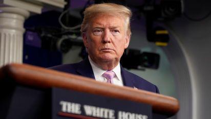 Trump warns about death toll, but laments lockdown