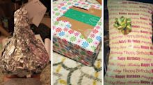 14 Christmas wrapping fails that will drive you insane