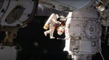 Russian cosmonauts take samples on 6th hour of spacewalk to crack mystery