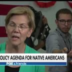 2020 Democrat Elizabeth Warren releases a plan aimed at 'uplifting' Native Americans