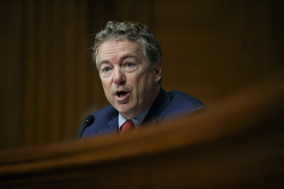 'I am negative': Rand Paul recovers from coronavirus