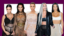 Presenting Kim Kardashian's Most Naked Outfits of All Time