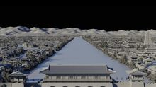 How did they create 'Mulan's' massive Imperial City? Think giant digital Lego kit