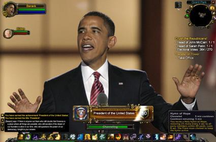 World of Warcraft's top five political contributions of 2008