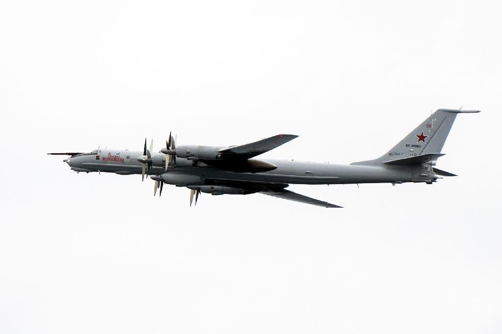 The TU)142, like the USS Mount Whitney, dates back to the Cold War era (AFP Photo/Jonathan NACKSTRAND)