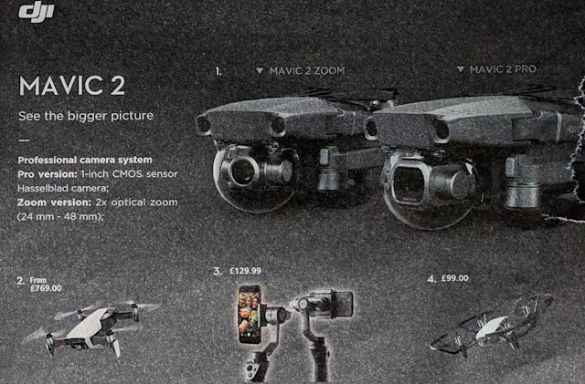 DJI's leaked Mavic 2 drone will come in 'Pro' and 'Zoom' versions