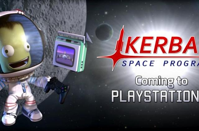 'Kerbal Space Program' is coming to PS4