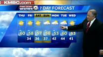 Comfortable temperatures ahead for your Thursday