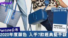 Pantone2020顏色經典藍!9款優雅個性Classic Blue手袋