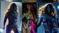 Beyonce Opens Her World Tour in a Seriously Racy Gold Bodysuit