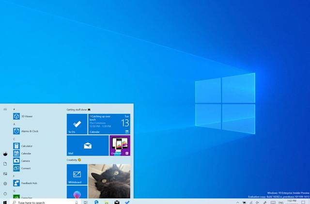 Windows 10 preview adds smarter active hours and a true light theme