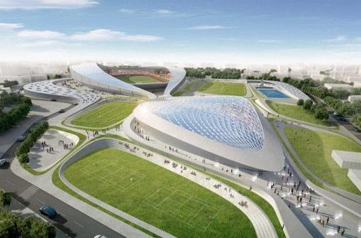 Inhabitat's Week in Green: bubble dresses, LEDs galore and otherworldly stadiums