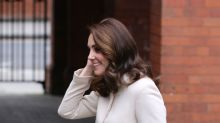 The Duchess of Cambridge recycles outfit from first pregnancy for children's centre outing