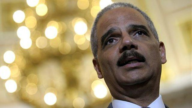 Eric Holder honor-bound to resign?