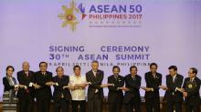 ASEAN gives Beijing a pass on SChina Sea