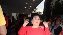 Carmen Salinas inicia campaña para hacer una escultura de bronce con su imagen