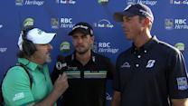 Merritt and Kutchar on play at the RBC Heritage Classic