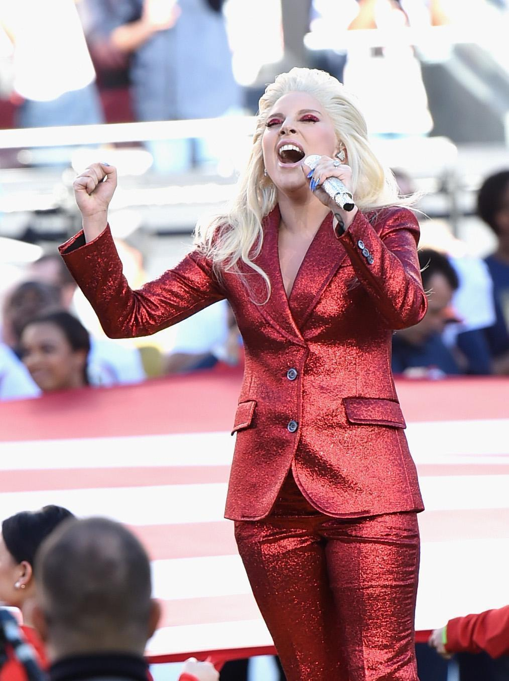 Lady Gaga Shakes Up Super Bowl 50 With Powerful, Flawless ...