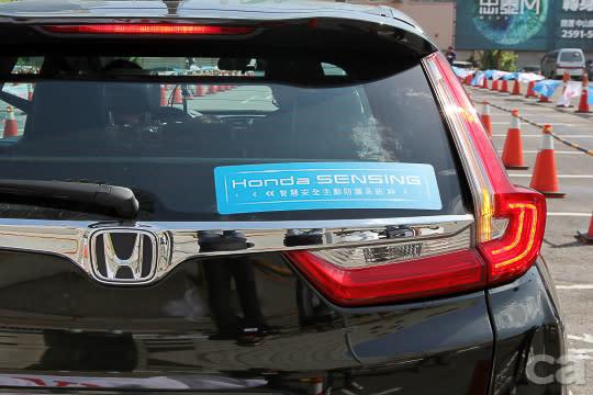 CR-V擁有完整Honda Sensing功能(S版),因此擔綱測試主角。