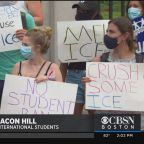 Students Protest New ICE Rule For International Students On Beacon Hill