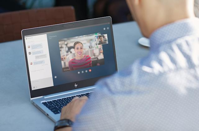 HP's EliteBooks pack mics on both sides for clearer Skyping