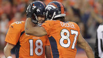 Decker 'can't complain' About Manning, Broncos' Start