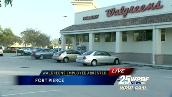 Walgreens employee accused of stealing from customer