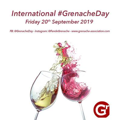 The World Celebrates the 10th Annual International #GrenacheDay Friday, September 20