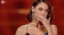 Sanremo 2019: Anna Tatangelo si commuove e i social si emozionano insieme a lei