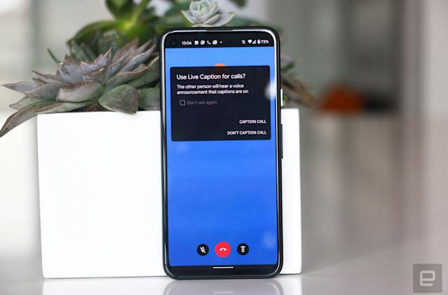 Google's Live Caption feature for Pixel phones now supports calls